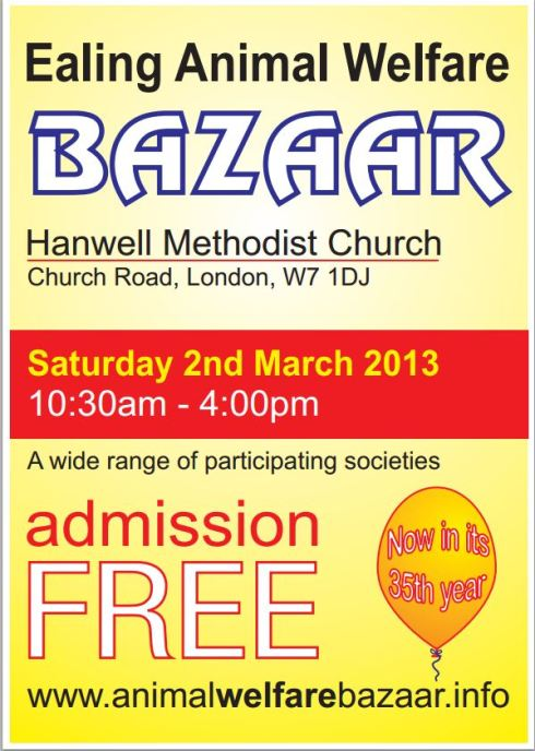 Ealing Animal Welfare Bazaar