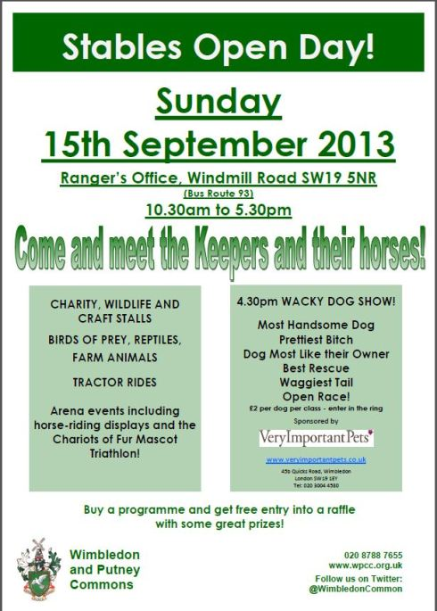 Stables Open Day