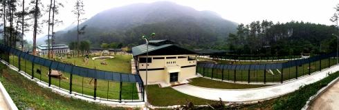 New double enclosure at Vietnam Bear Rescue Centre - Copyright: Animals Asia
