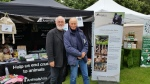 Pup Aid 2015 - Peter Egan and Charles Dance at our stall